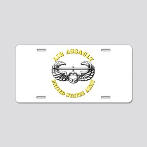 Emblem - Air Assault Aluminum License Plate