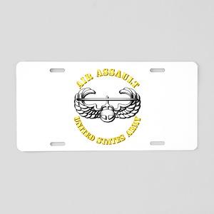 Emblem - Air Assault Aluminum License Plate