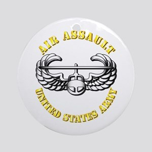 Emblem - Air Assault Ornament (Round)