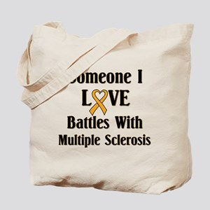 MS - Multiple Sclerosis Tote Bag