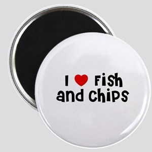 I * Fish And Chips Magnet