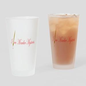 Murder Drinking Glass