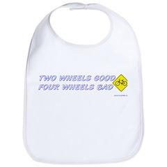 Two Wheels Good Bib