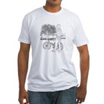 Bicycle Picture Fitted T-Shirt