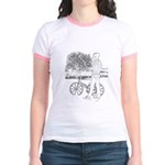 Bicycle Picture Jr. Ringer T-Shirt