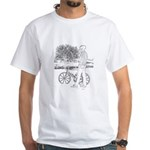 Bicycle Picture White T-Shirt