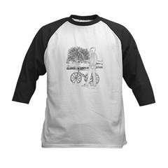 Bicycle Picture Kids Baseball Jersey