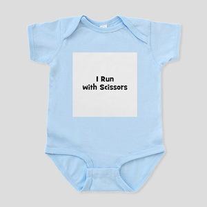 I Run with Scissors Infant Creeper