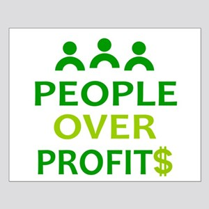 People Over Profits: Small Poster