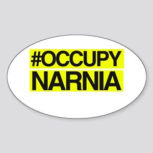 Occupy Narnia Sticker (Oval)