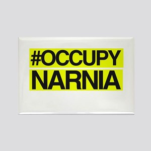 Occupy Narnia Rectangle Magnet