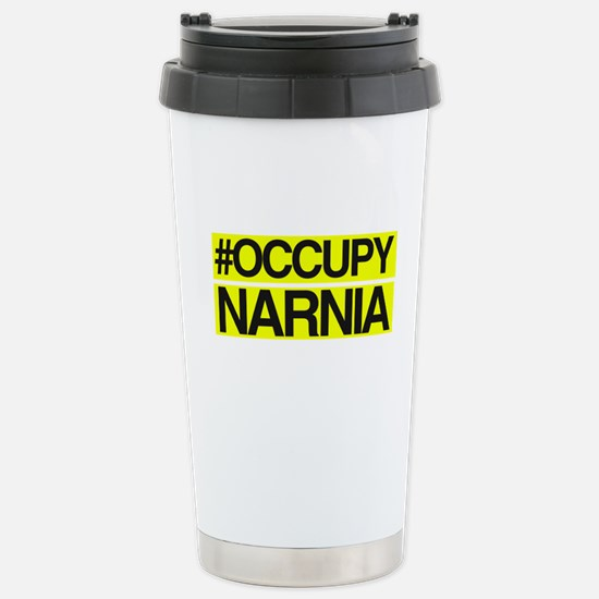 Occupy Narnia Stainless Steel Travel Mug