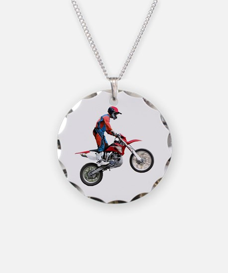 Helaine's Dirt Cycle Necklace