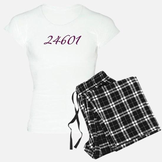 24601 Les Miserable Prisoner Number Pajamas