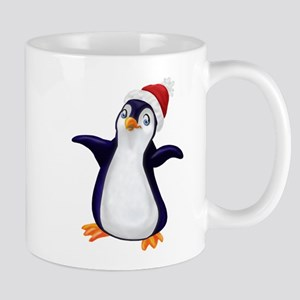Happy Christmas Penguin Mug