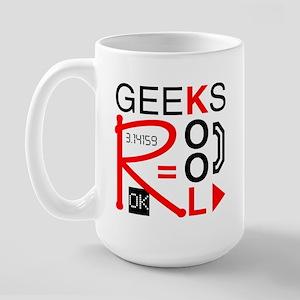 Geeks R Kool Large Mug