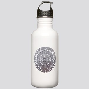 Modern Mayan Calender Stainless Water Bottle 1.0L