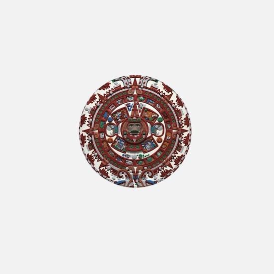 Mayan Calender Mini Button