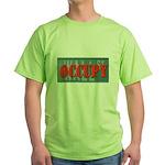 #OccupyWallStreet Green T-Shirt