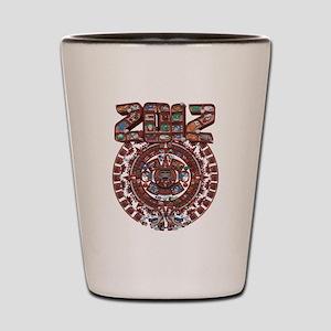 2012 Mayan Calender Shot Glass
