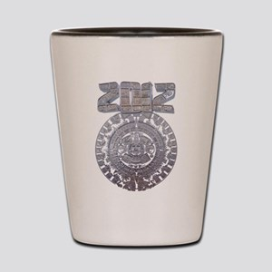 Modern Mayan 2012 Calender Shot Glass