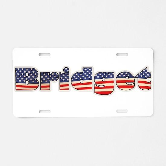 American Bridget Aluminum License Plate