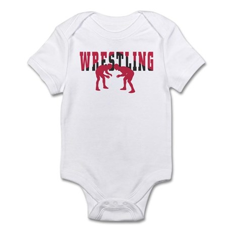 Wrestling 2 Infant Creeper