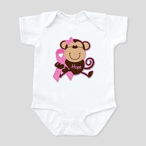 Monkey Cancer Hope Infant Bodysuit