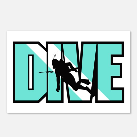 Dive Postcards (Package of 8)