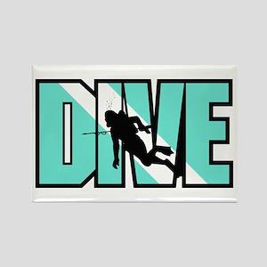 Dive Rectangle Magnet