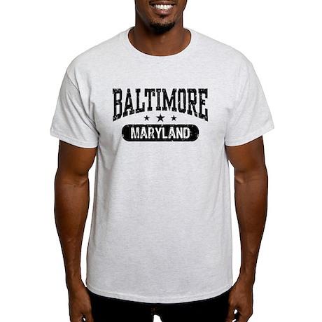 Baltimore Maryland Light T-Shirt