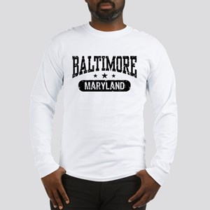 Baltimore Maryland Long Sleeve T-Shirt