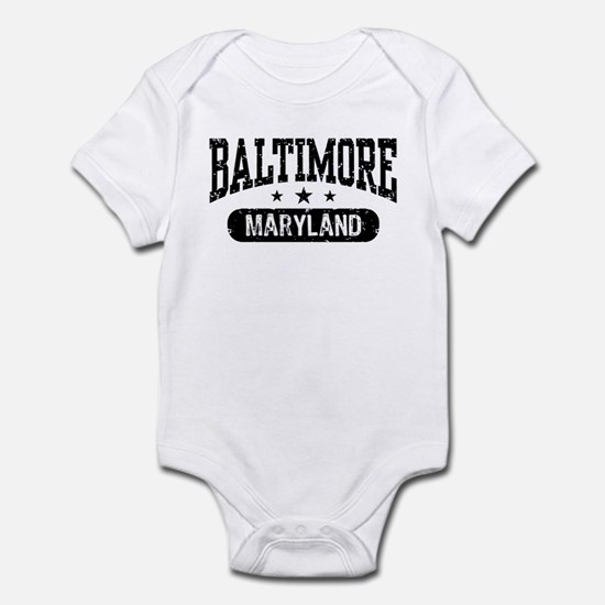 Baltimore Maryland Infant Bodysuit