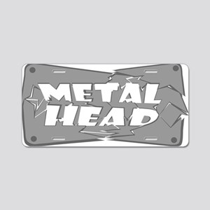Metal Head Aluminum License Plate