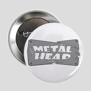 "Metal Head 2.25"" Button"
