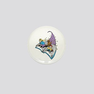 Image of a Story Book Mini Button