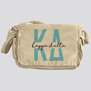 Kappa Delta Polka Dots Messenger Bag