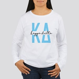 Kappa Delta Polka Dots Women's Long Sleeve T-Shirt