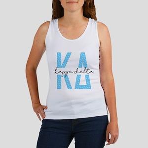Kappa Delta Polka Dots Women's Tank Top