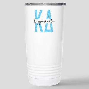 Kappa Delta Polka 16 oz Stainless Steel Travel Mug