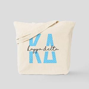 Kappa Delta Polka Dots Tote Bag