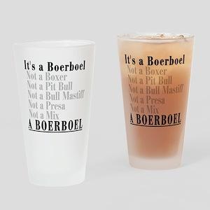 It's a Boerboel Drinking Glass