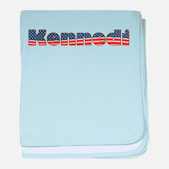 American Kennedi baby blanket