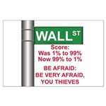 Occupy Wall Street Large Poster