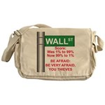 Occupy Wall Street Messenger Bag