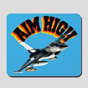 F16 Aim High Mousepad