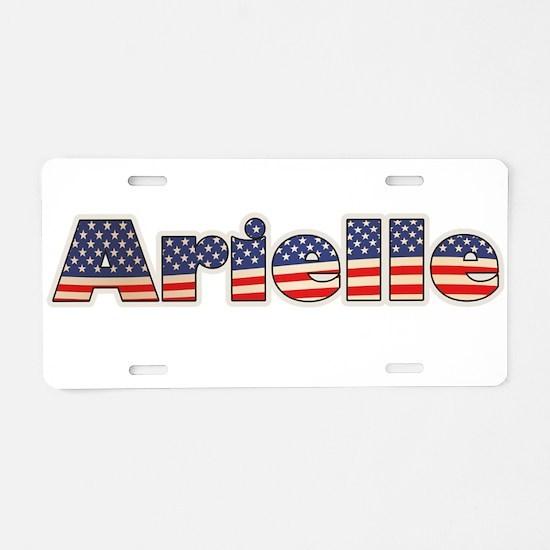 American Arielle Aluminum License Plate