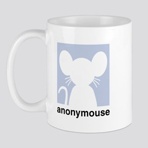 Cute anonymouse chat icon Mug