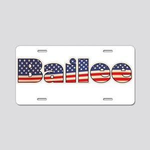 American Bailee Aluminum License Plate
