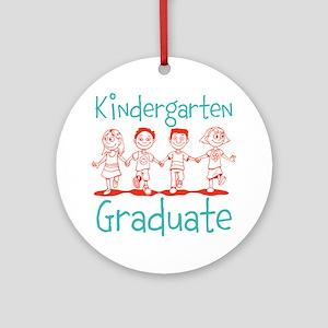 Kindergarten Graduate Ornament (Round)